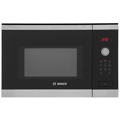 Bosch Serie 6 HMT84M654B  Built-in Solo Microwave Built - Stainless Steel/Black