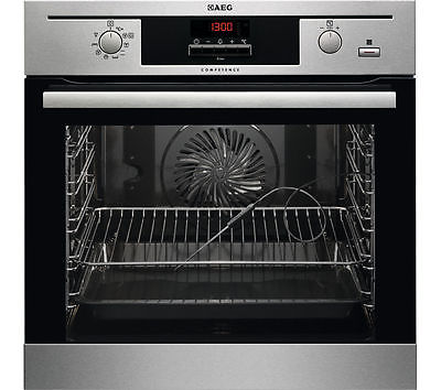 AEG Steambake BE500452DM Electric Oven - Stainless Steel