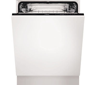 AEG F34300VI0 Full-size Integrated Dishwasher A+