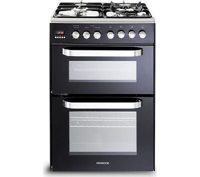 KENWOOD CK232DFA 60cm Dual Fuel Cooker - Black
