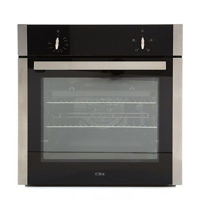 CDA SK110SS Electric Single Oven - Stainless Steel