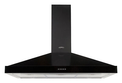 Belling Cooker Hood Integrated CLASSIC90CHIMMK3 Black - 444443567