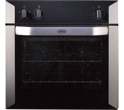 BELLING BI60F Electric Oven - Stainless Steel & Black 444449578