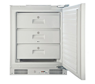 HOOVER HBFUP130K Integrated Undercounter Freezer Energy - White