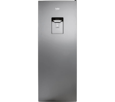 BEKO LXSG1545DS Tall Fridge - Silver with Water dispenser & Auto defrost