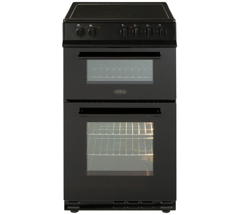 Belling FS50EDOFC 50cm Electric Cooker - Black