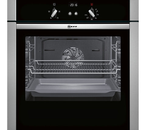 NEW NEFF B44S32N5GB Slide & Hide Electric Built-in single Oven - Stainless Steel