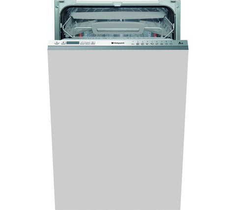 HOTPOINT LSTF9H117C Slimline Integrated Dishwasher - White
