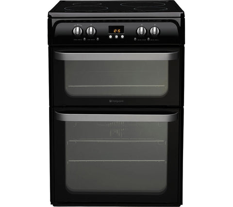 HOTPOINT HUI614K 60cm Electric Induction Cooker - Black