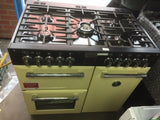Stoves Richmond 900DFT Black 90cm Dual Fuel Range Cooker - Cream