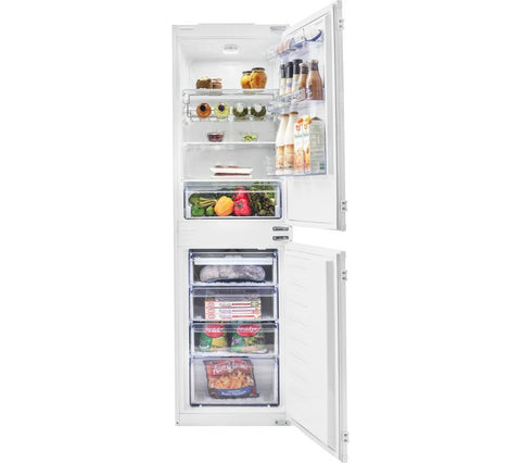 BEKO BCFD150 Integrated 50/50 Fridge Freezer - White