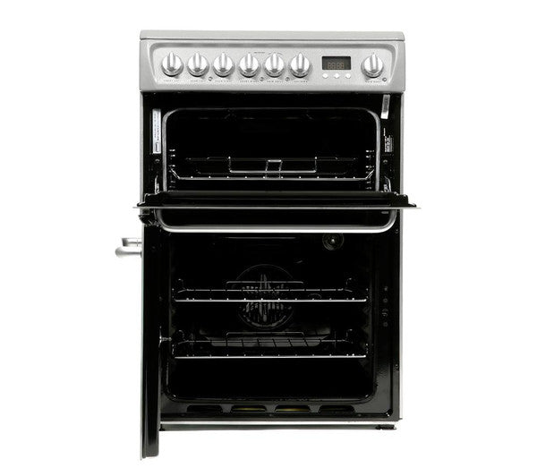 Fuel Induction Service >> HOTPOINT DSC60SS Electric 60cm Freestanding Double Oven ...