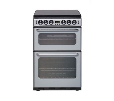 NEW WORLD 550TSIDOM 55cm Gas Cooker - Silver - 444440032