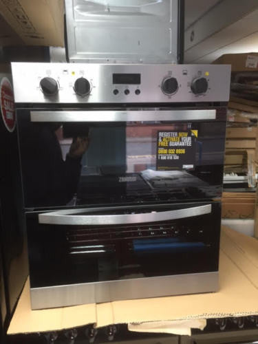 Zanussi Zof35517xa Electric Built Under Double Oven