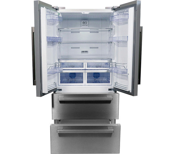 Beko Select Gne60520x American Style Fridge Freezer