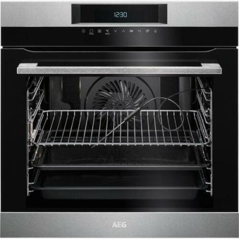 AEG BPK742320M Pyrolytic Built-In A+ Rated Electric Single Oven Food Sensor wh