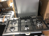 AEG HGB95520YM 5 Point Gas Hob Countertop Kitchen Stainless Steel 86cm