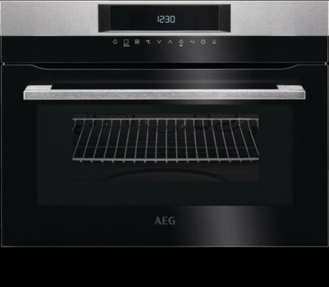 AEG KMK721000M Solo Touch Control 1000w 46L Microwave & Compact Oven wh
