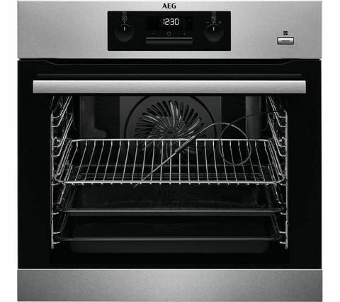 AEG BPS352020M Electric Steam Oven - Stainless Steel