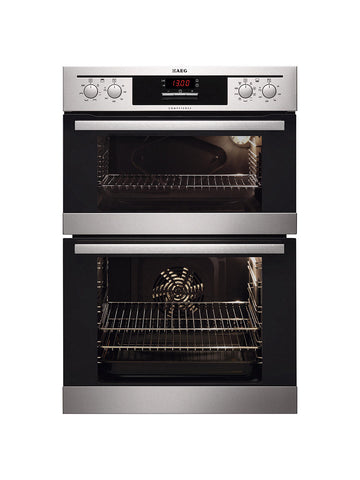 AEG DC4013021M Electric Built-In Double Oven, Stainless Steel