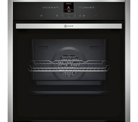 NEFF B17CR32N1B Electric Single Oven - Stainless Steel