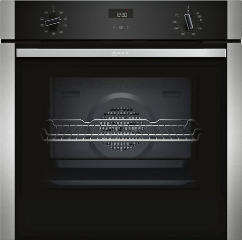 NEFF B1ACE4HN0B 60cm Electric Single Oven - Stainless Steel