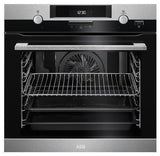 AEG BEK351010M - 60cm Built-in Single Oven - Stainless Steel