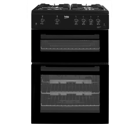 BEKO KDG611K 60 cm Gas Cooker - Black LPG Convertible