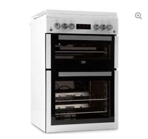 BEKO XDVG675NTW 60cm Gas Cooker - White