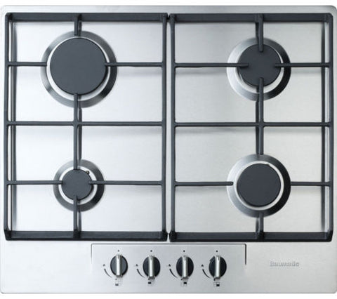 BAUMATIC BHG620SS Gas Hob - Stainless Steel