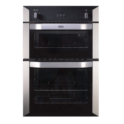 BELLING Bi90G Gas Double Oven - Stainless Steel - 444449598