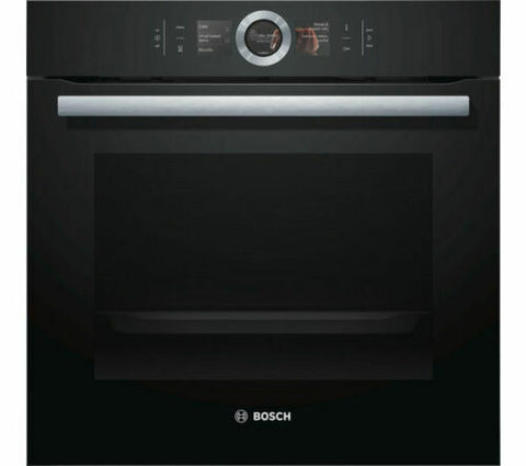 BOSCH Serie 8 HBG6764B6B Electric Smart Oven - Black