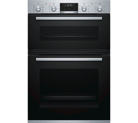 BOSCH Serie 6 - MBA5350S0B Electric Double Oven - Stainless Steel