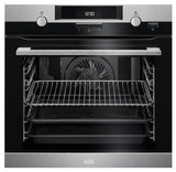 AEG SteamBake BPK552220M  Electric Built- In Single Oven - Stainless Steel