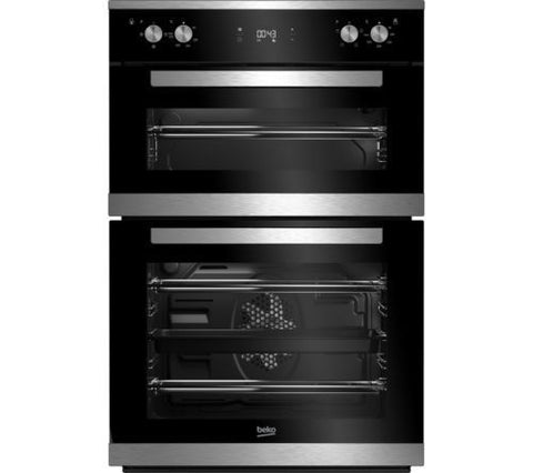 BEKO BXDF25300X Electric Double Oven - Stainless Steel