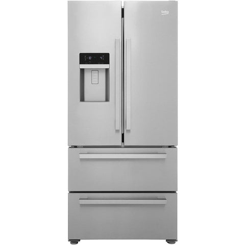 BEKO GNE60520DX 70/30 Fridge Freezer - Stainless Steel