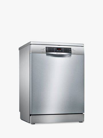 Bosch SMS46MI01G Freestanding Dishwasher Stainless Steel