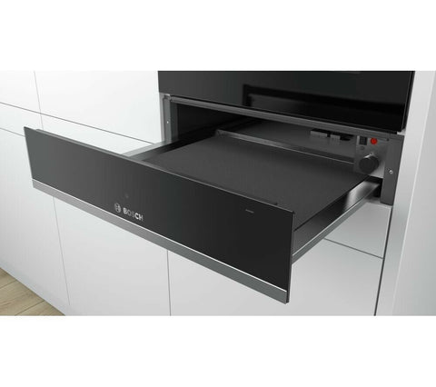 Bosch BIC510NS0B Serie 6 Built In 57cm Warming Drawer Stainless Steel