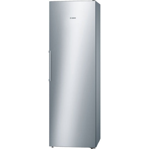 Bosch GSN36VL30G Serie 4 Upright Freestanding Frost Free Freezer Stainless Steel