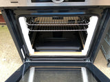 Bosch HBG6764S6B Serie 8 Built In 60cm Electric Single Oven - Brushed Steel