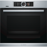 Bosch HRG6769S6B Serie 8 Single Built-in Electric Oven With Pyrolytic
