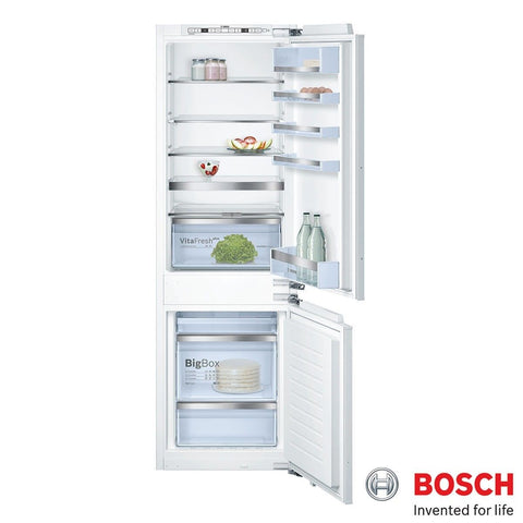 Bosch KIN86AD30G Integrated No-Frost 50/50 Built in Fridge Freezer in White A++