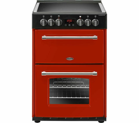 Belling Farmhouse 60E Electric Cooker - Red (444444712)