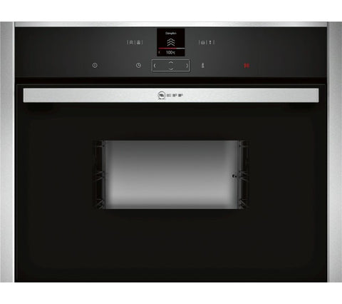 NEFF C17DR02N0B Compact Electric Steam Oven - Stainless Steel