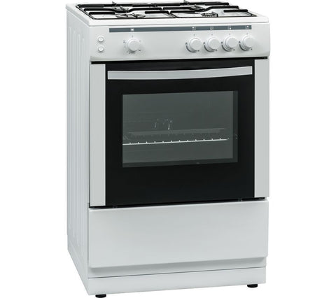 ESSENTIALS CFSG60W17 60cm Gas Cooker - White