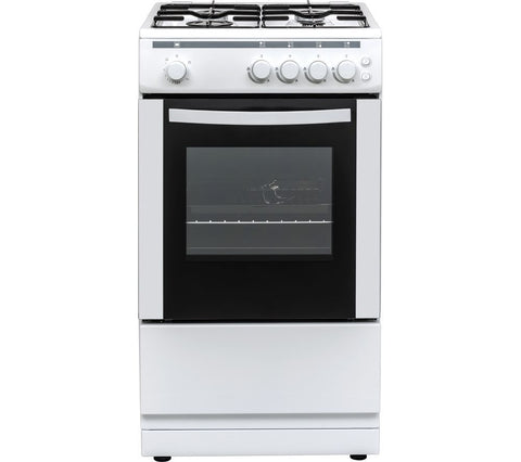 ESSENTIALS CFSGWH18 - 50cm Gas Cooker - White