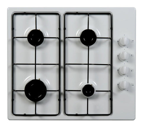 ESSENTIALS CGHOBW12 Gas Hob - White
