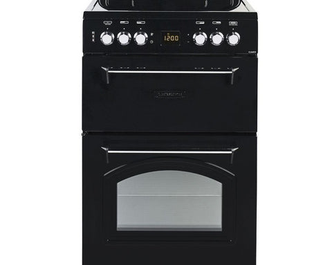 LEISURE CLA60CEK - 60cm Electric Ceramic Cooker - Black
