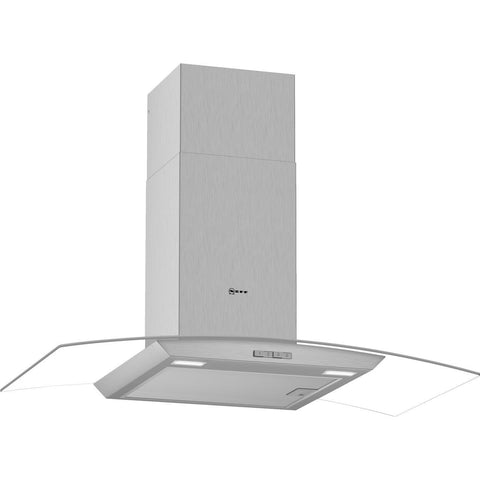 NEFF N30 D94ABC0N0B 90 cm Chimney Cooker Hood - Stainless Steel - A Rated