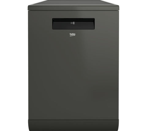 Beko DEN48X20 Freestanding A Dishwasher - Graphite - Self-cleaning EverClean Filter